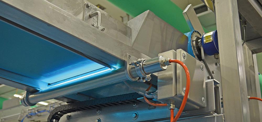 conveyor belt disinfection